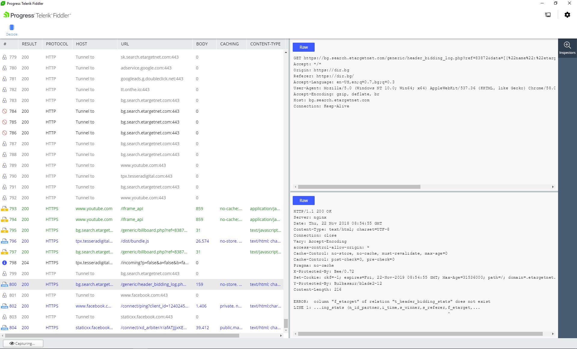 HTTPS Decryption & Content Decoding in Fiddler Everywhere