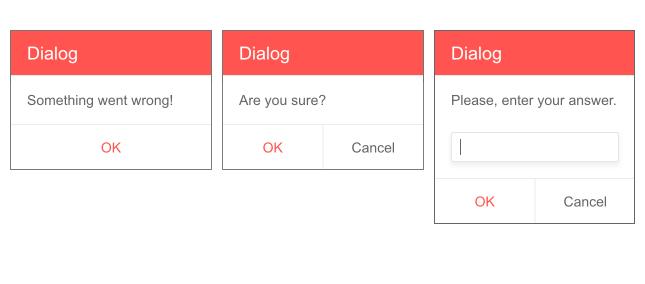 Telerik UI for Blazor Predefined Dialogs