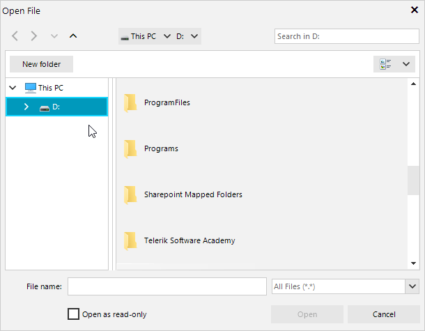 directory requesting