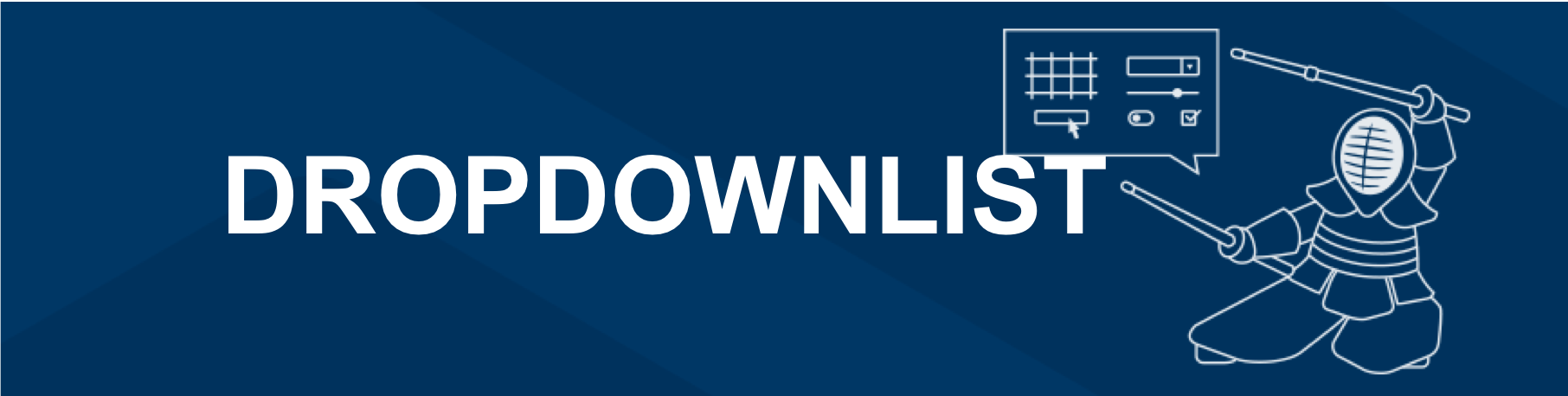 How to Use a DropDownList UI Component in Your Web App