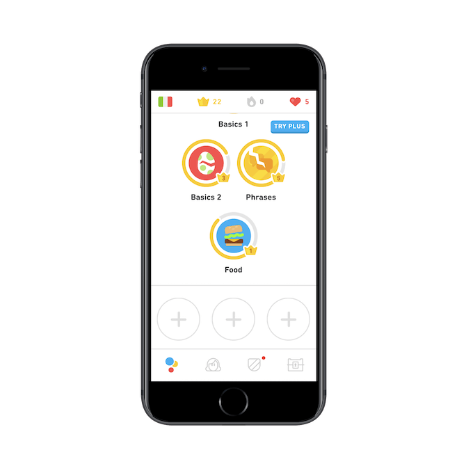 Duolingo Plus Button (002)