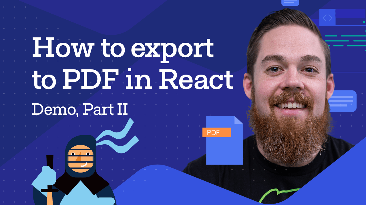Export to PDF in React - Charts with Carl Bergenhem