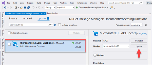 Update NuGet Packages