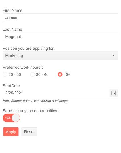 Telerik UI for Blazor Form Custom Editors & Templates