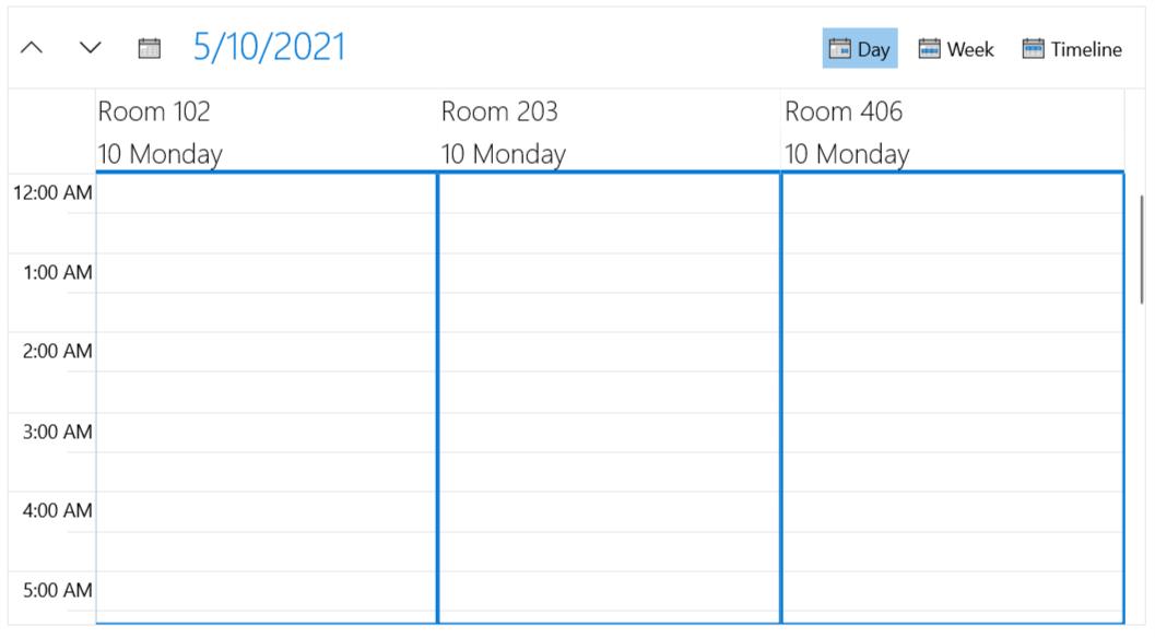 RadScheduler Grouping
