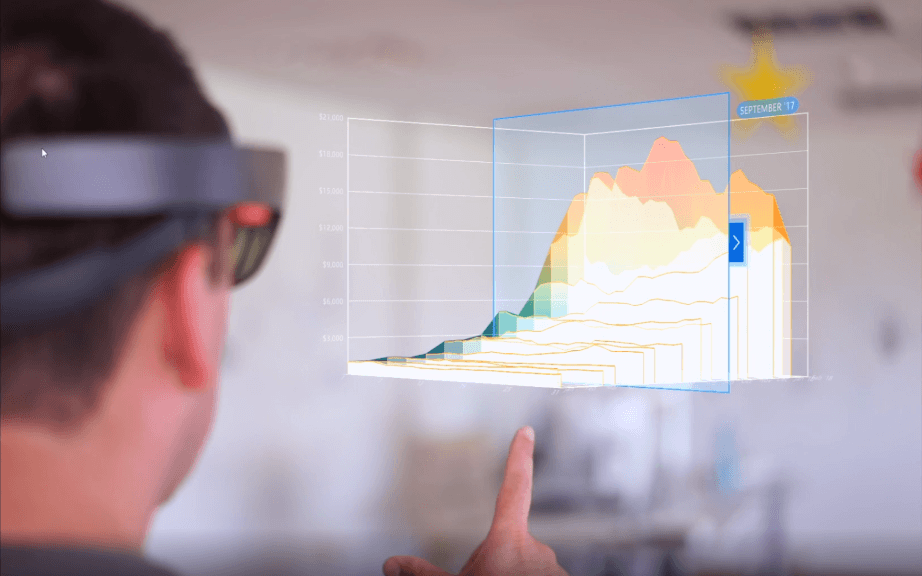 Screenshot of HoloLens App