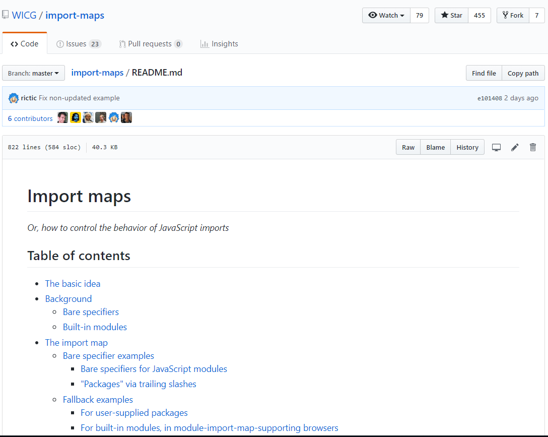 Import-maps-proposal
