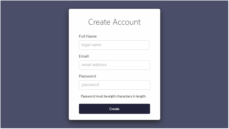 React Native Form Validation Full Example
