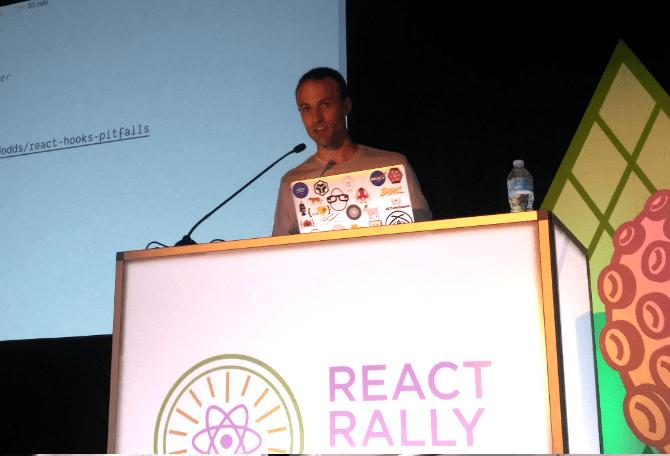 Kent C Dodds at React Rally