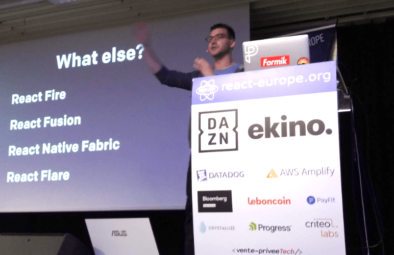 A Look Back at React Europe 2019 in Paris