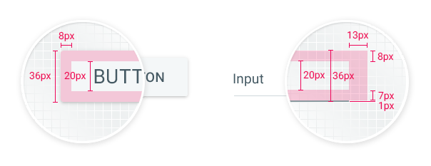 Visual and Dimension Improvements in UI for ASP NET AJAX