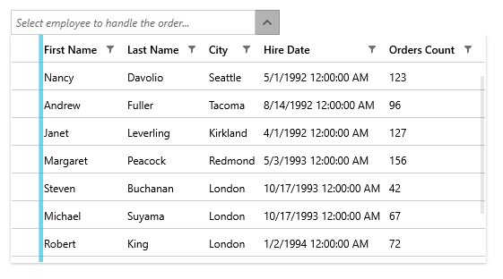 User-defined columns