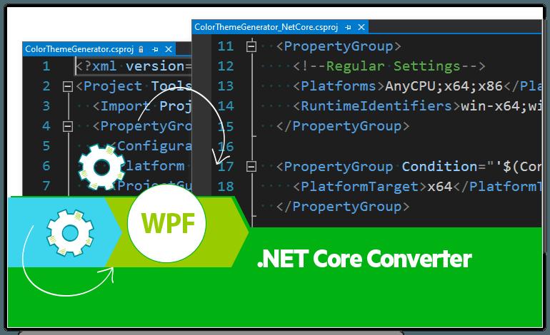 Telerik UI for WPF - .NET Core Converter