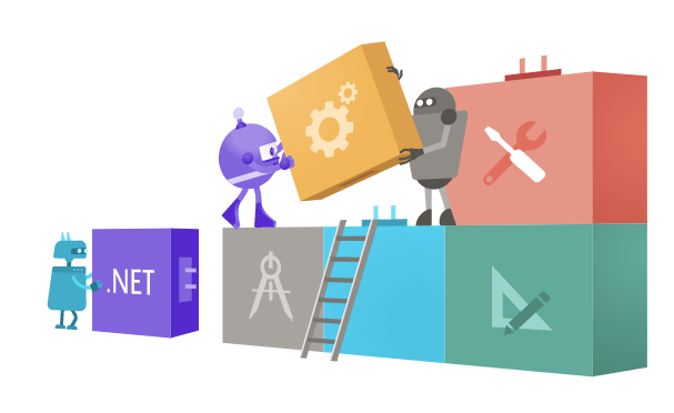 .Net 6 characters building blocks