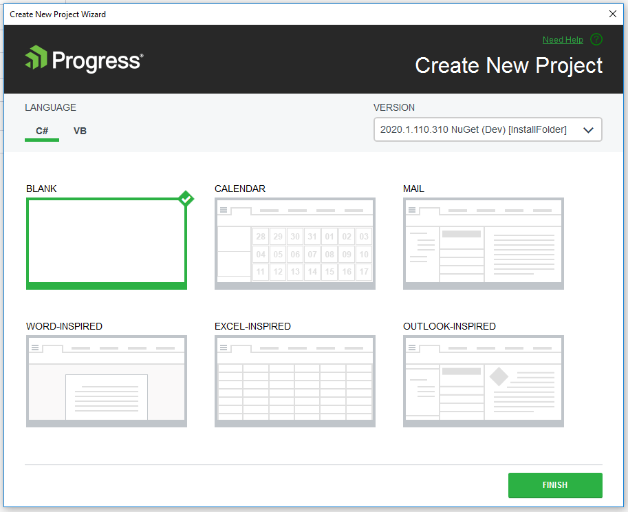 NetCore Project Templates