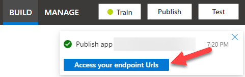 See API Endpoints button