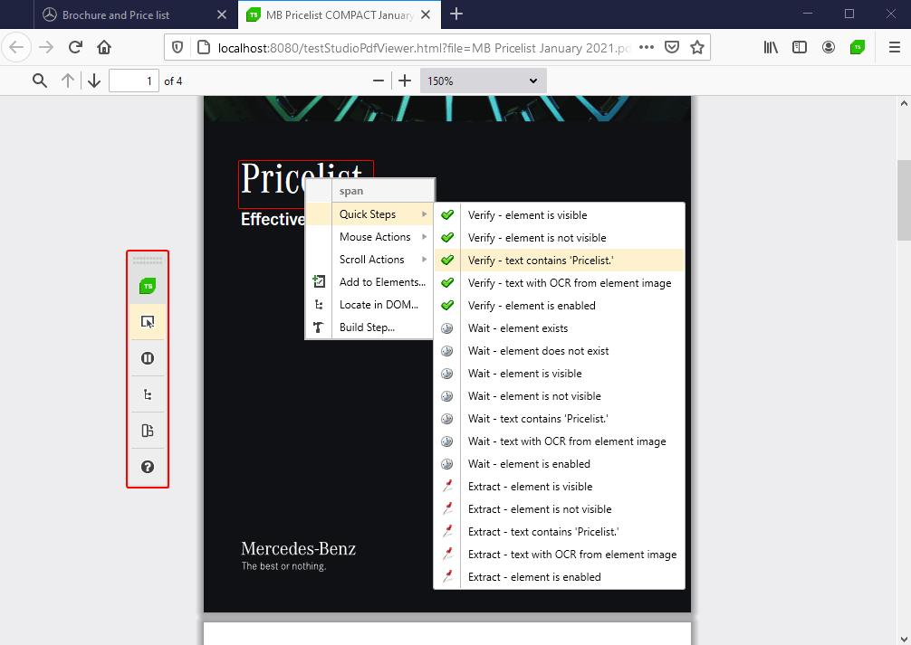 pdf testing