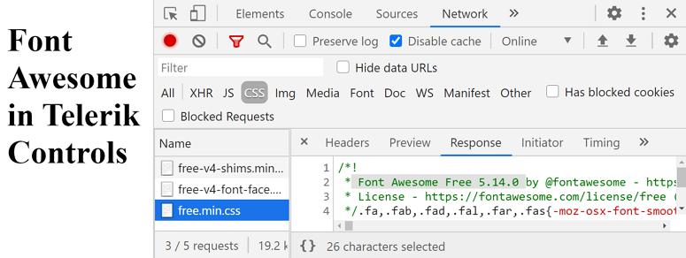 DevTools Network tab