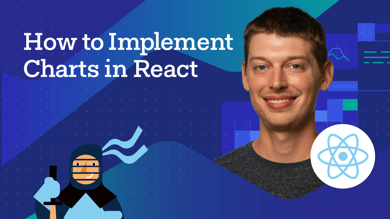 React Charts Video Tutorial Cover