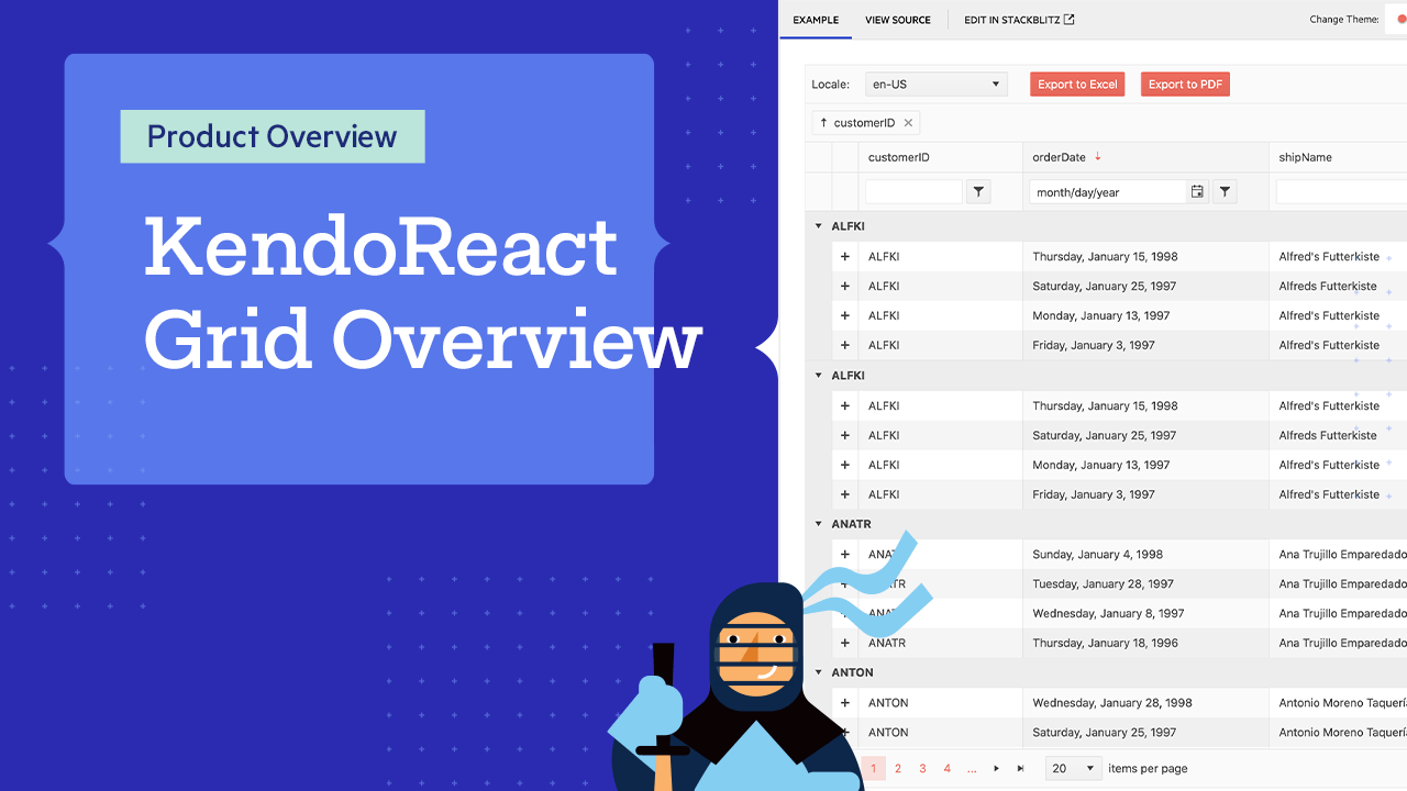React Data Grid Overview by Carl Bergenhem