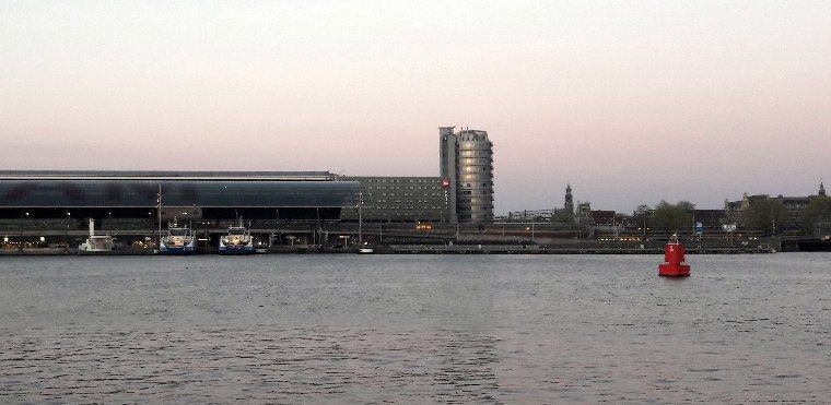 React Amsterdam workshop river view