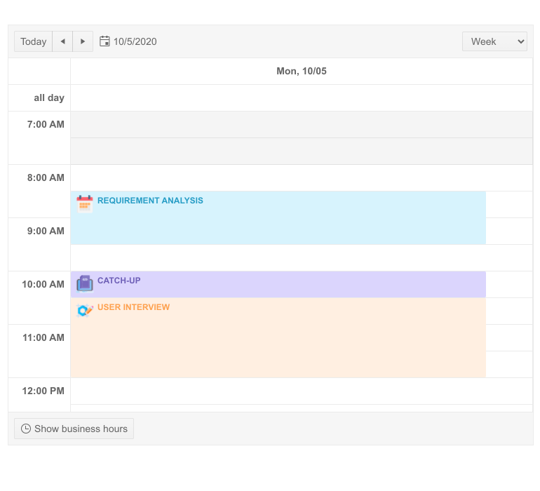 Telerik UI for Blazor Scheduler Appointment Templates