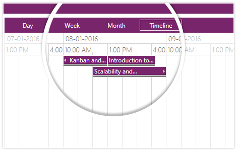 Telerik-UI-WPF-ScheduleView-StartEndTime