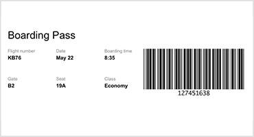 Telerik UI for Blazor Barcode Overview