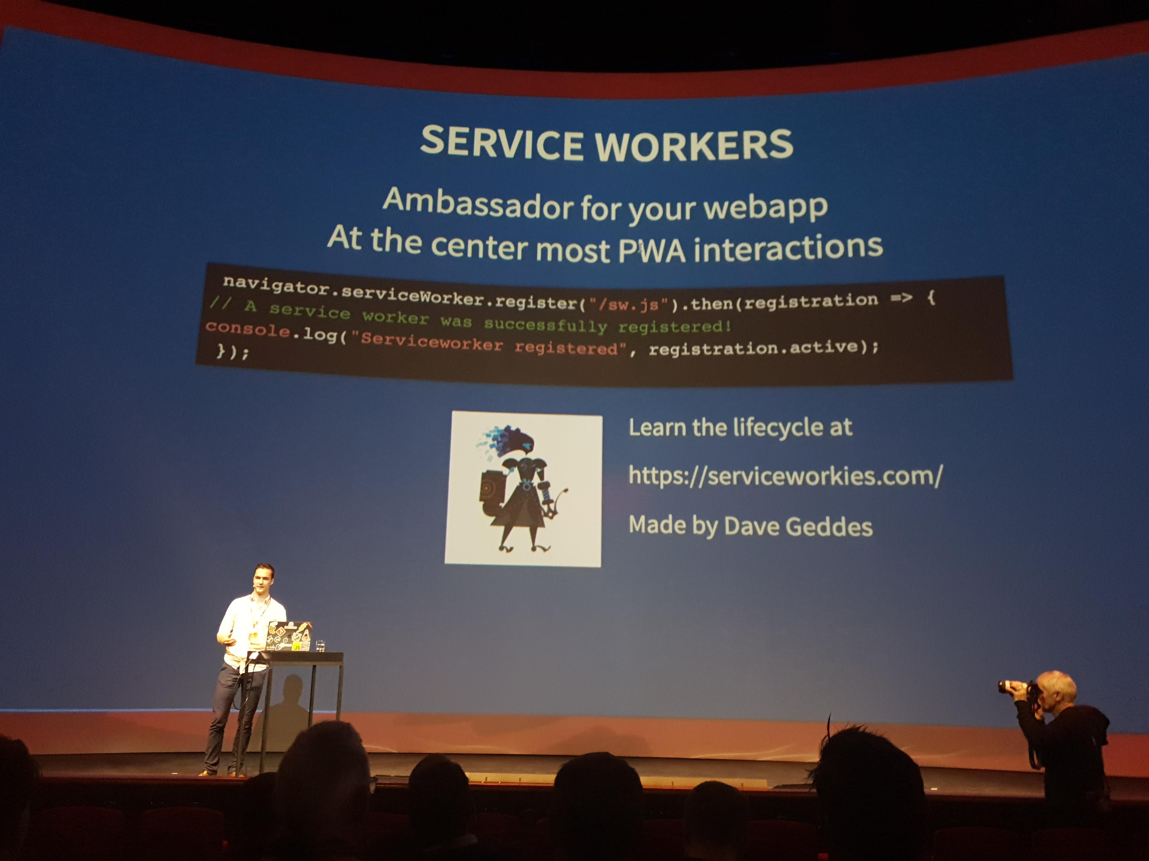 Service-Workers