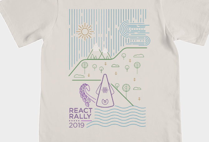 Image of React Rally T-Shirt