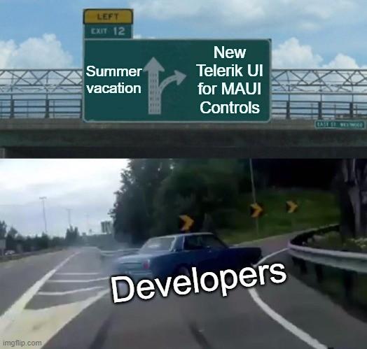 Telerik UI for MAUI DataGrid Summer Release