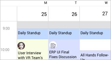 Telerik UI for Xamarin Calendar - Special Slots