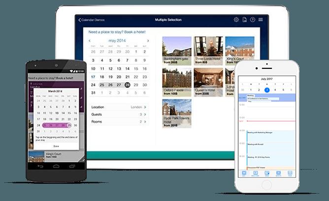 Telerik UI for Xamarin Calendar