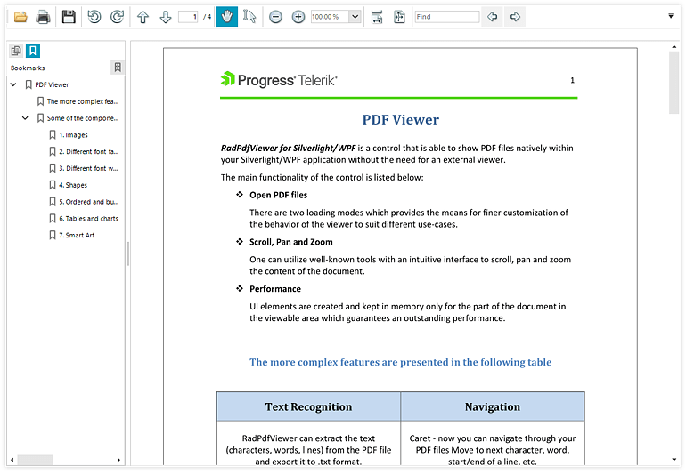 Telerik_UI_for_WinForms_-_PDFViewer_-_Bookmarks_support_770
