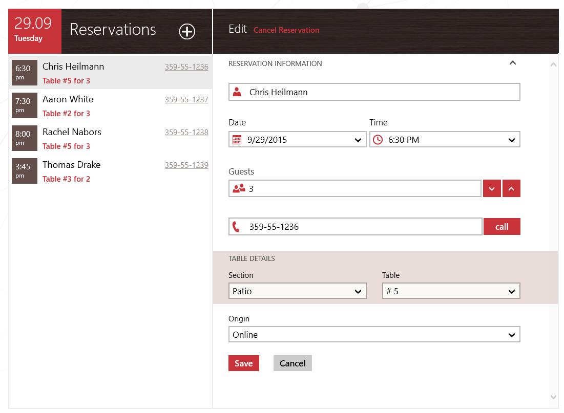UI for UWP DataForm