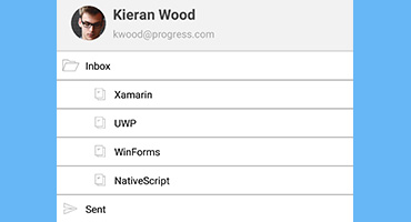 Telerik UI for Xamarin - TreeView - Overview Small Image