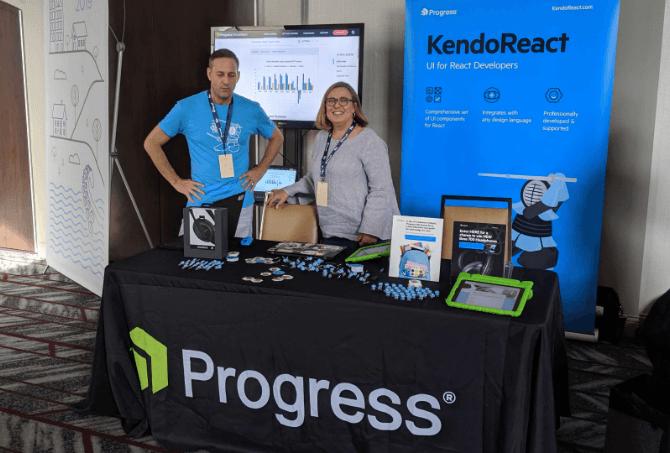 KendoReact Booth