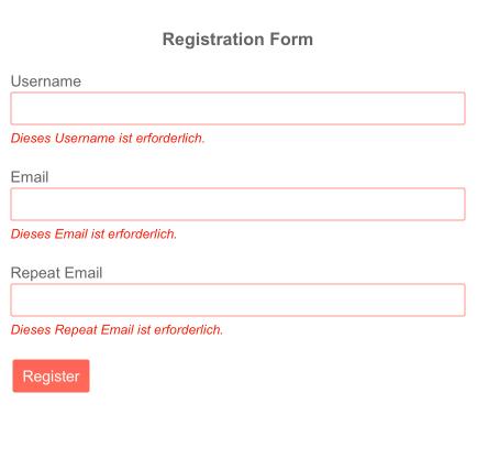 Validation Message - Localization