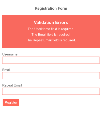 Validation Summary - Template
