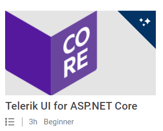 Telerik UI ASP.NET Core Technical Training