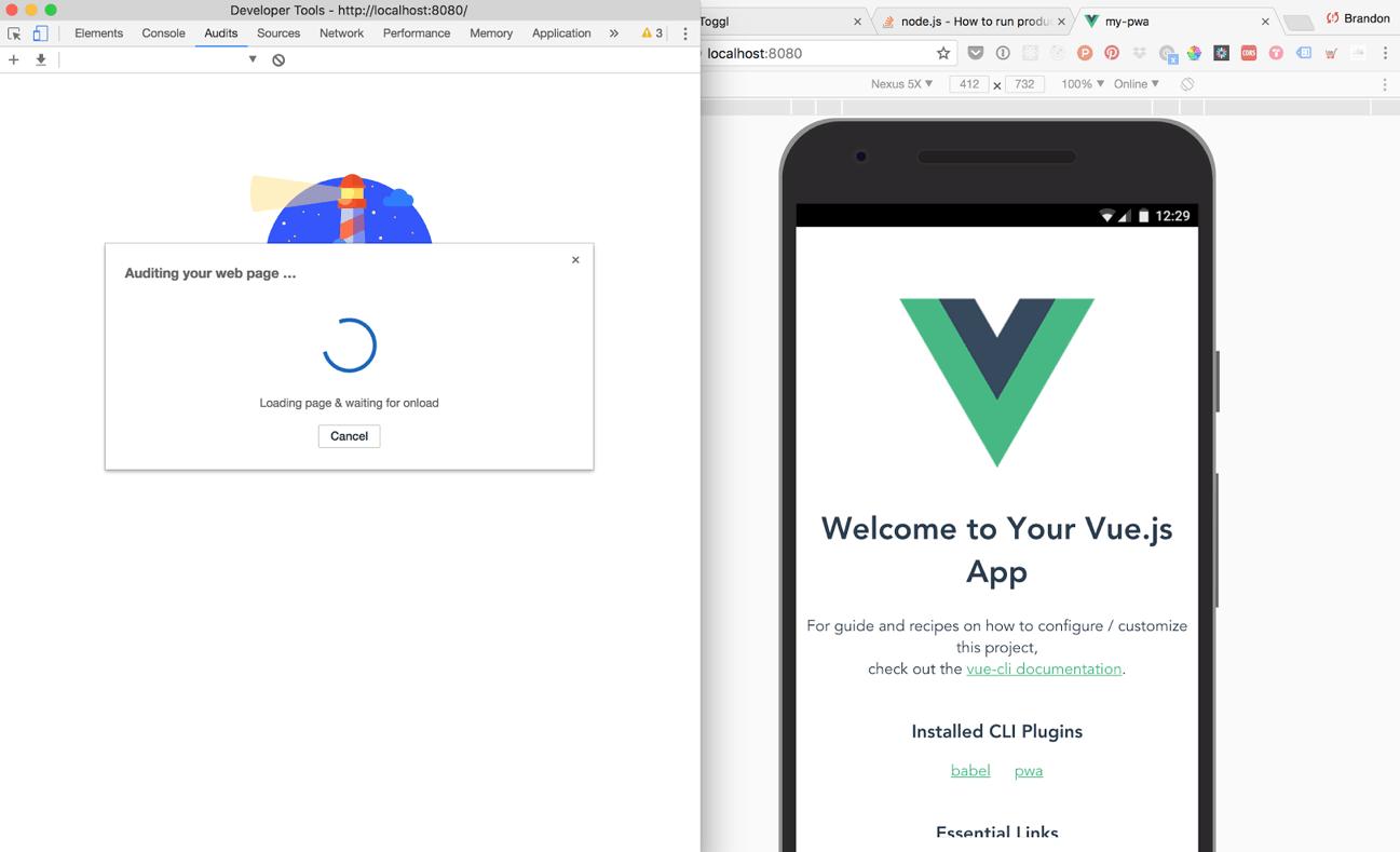 Building PWAs with Vue js