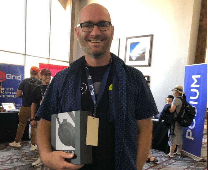 Headphone Raffle Winner
