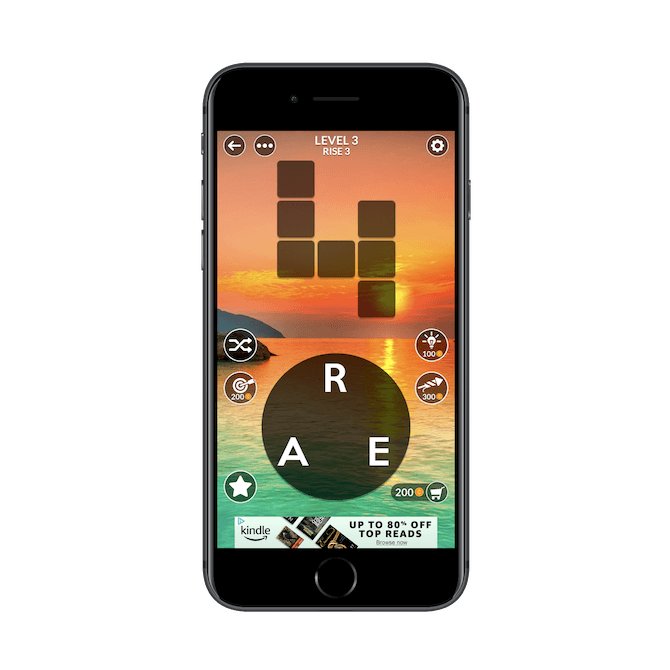 WordScapes Banner Ad