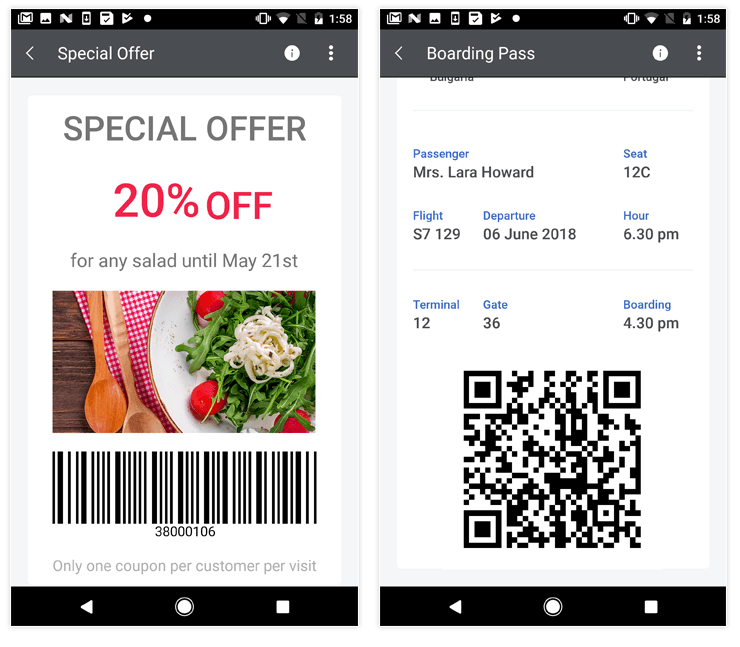 Telerik UI for Xamarin - Barcode - Overview Image