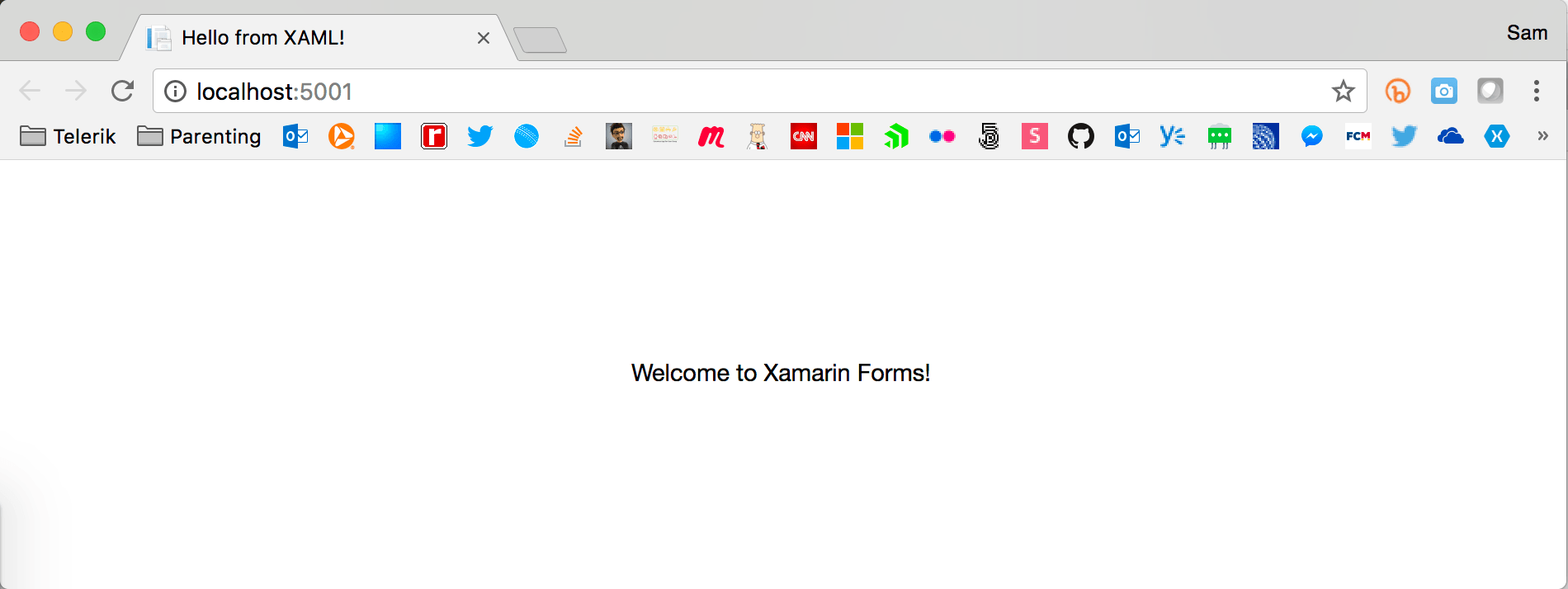 Xamarin.Forms on the Web