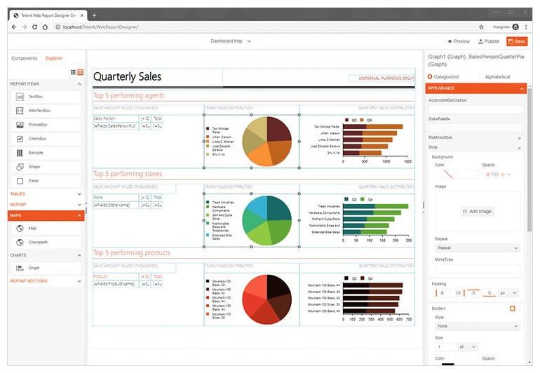 web-report-designer