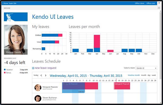 kendo-ui-office-365