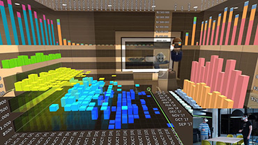Explore and Analyze Your Data in Stereoscopic 3D with AR and