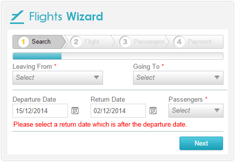 Wizard for ASP.NET Web Forms with built-in validation