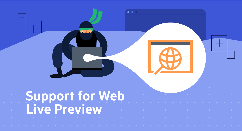 Telerik UI for ASP.NET AJAX Web Live Preview Support